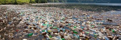 big plastic pollution